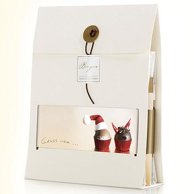 Weihnachten Schokoladen Set als Werbegeschenk