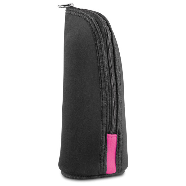 Neopren Kosmetiktasche in schwarz (bedrucken als Werbegeschenk)