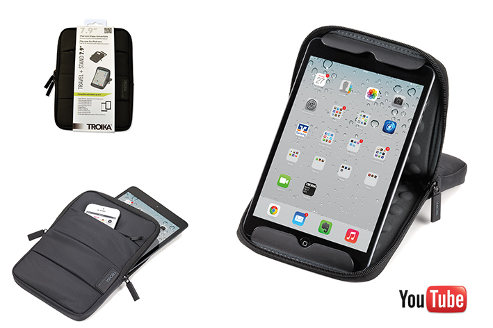 TROIKA Tablet Hülle  TRAVEL + STAND 7.9-