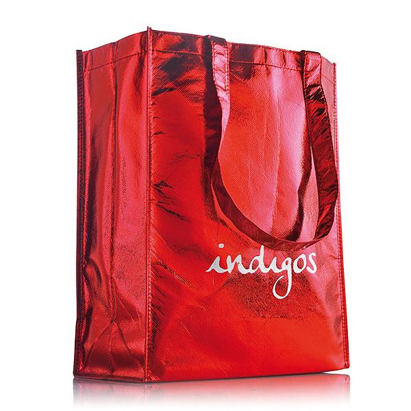 Woven Einkaufstasche hoch M mit Logo bedruckbar