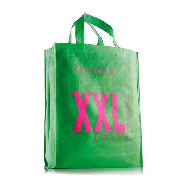 Woven Einkaufstasche hoch S – mit Logo bedrucken