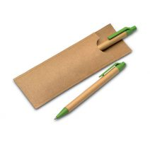 Kugelschreiber in recycelter Verpackung