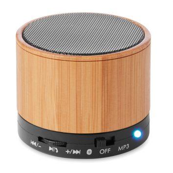 Lautsprecher mit Bambus zum bedrucken
