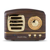 Lautsprecher im Retrodesign mit Bluetooth