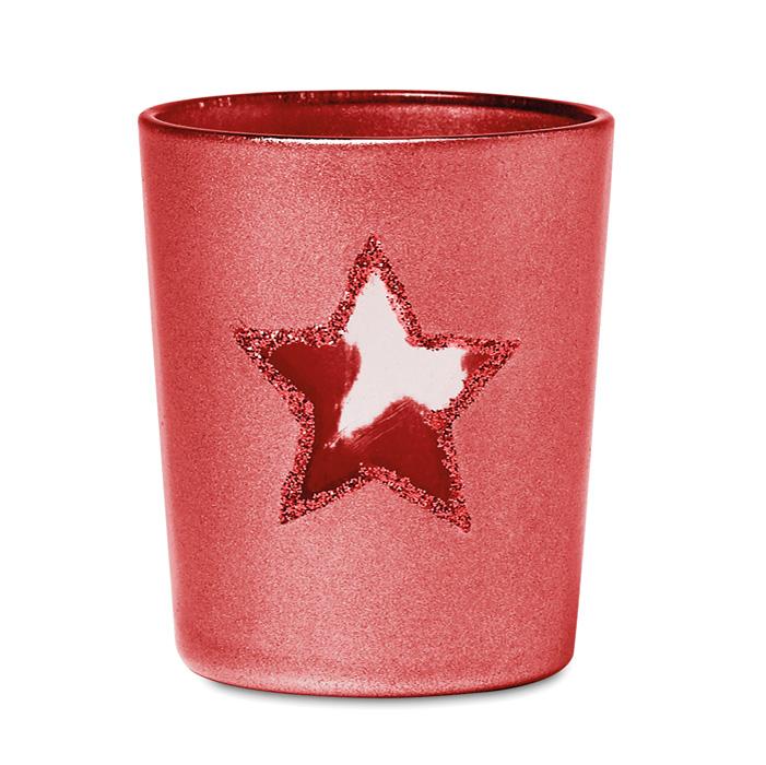 Werbeartikel Weihnachten.Teelichthalter Bedruckbar