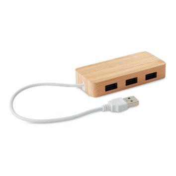 USB Hub aus Bambus