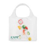 faltbare Einkaufstaschen mit Henkel aus RPET - bedruckbar