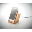 Bambus-Gehäuse. Inkl. Smartphone-Halter und Stiftehalter