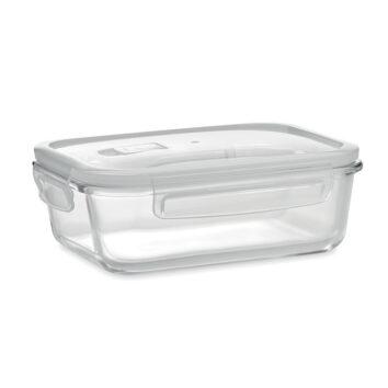 transparente Lunchbox zum Frischhalten von Speisen