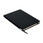 DIN A5 Notizbuch mit Cover aus 600D RPET - bedruckbar