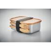 Lunchbox Edelstahl Bambus