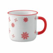 Kaffeebecher für die Weihnachtszeit