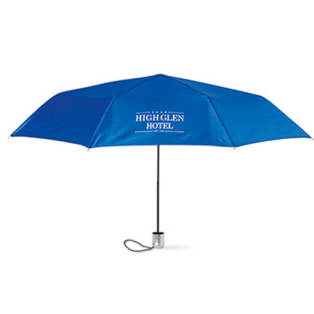 """21"""" 3fach gefalteter Regenschirm  - als Werbemittel"""