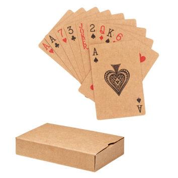 Kartenspiel aus recyceltem Papier