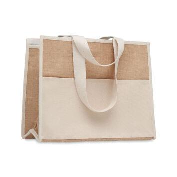 Einkaufstasche aus Jute für die Freizeit