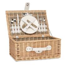 Picknickkorbset für die Freizeit