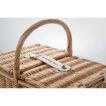 Picknick Korb aus Weidengeflecht