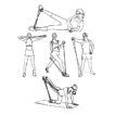 Multifunktions-Fitness-Tube für die Freizeit