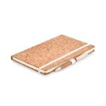 DIN A5 Notizbuch mit Cover aus Kork - bedruckbar