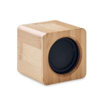 Lautsprecher aus ABS und Bambus