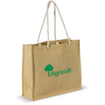 Einkaufstasche aus Jute - bedruckbar