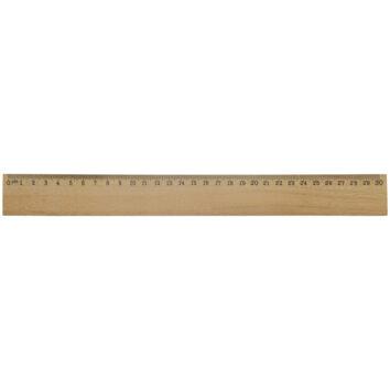 Holzlineal 30 cm - bedruckbar