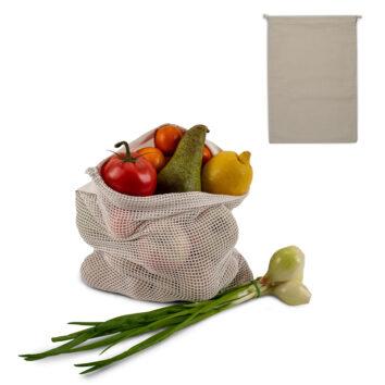 Wiederverwendbarer Lebensmittelbeutel OEKO-TEX® Baumwolle 30 x 40 cm - bedruckbar