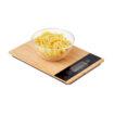 Digitale Küchenwaage aus Bambus und ABS - bedruckbar