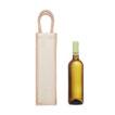 Geschenktasche für Flaschen aus Jute und Canvas - bedruckbar