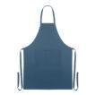 Küchenschürze mit 2 Fronttaschen aus 100% Organic Cotton - bedruckbar