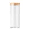 Aufbewahrungsglas aus Borosilikat mit Verschluss aus Kork - bedruckbar