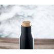 Doppelwandige Isolierflasche aus Edelstahl - bedruckbar