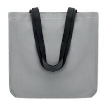 Reflektierende Einkaufstasche aus 190D Polyester mit langen Griffen