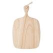 Servier-/Schneidebrett aus Paulownia-Holz mit Aufhänger aus Jute - bedruckbar