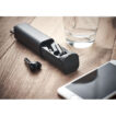 True Wireless Stereo (TWS) 5.0 Ohrhörer mit eingebautem 30-mAh-Akku - bedruckbar