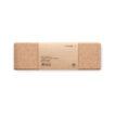 Yoga Block aus Kork inkl. Papiermanschette mit Yoga-Anleitungen - bedruckbar