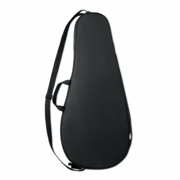 Schlägertasche aus 600D gepolstertem RPET - bedruckbar