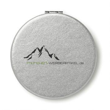 MO9008_16-Kosmetik-Spiegel-Make-up-silbern-bedruckbar-bedrucken-Logodruck-Werbegeschenk-Werbeartikel-Rosenheim-Muenchen-Deutschland