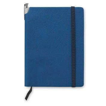 MO9108_04A_Notizbuch-A5-PU-bedruckbar-blau-bedrucken-Logodruck-Werbegeschenk-Werbeartikel-Rosenheim-Muenchen-Deutschland