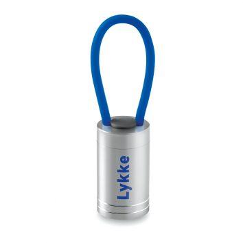 MO9152_37_P_taschenlampe-fahrradlampe-handschlaufe-blau-bedrucken-Logodruck-Werbegeschenk-Werbeartikel-Rosenheim-Muenchen-Deutschl