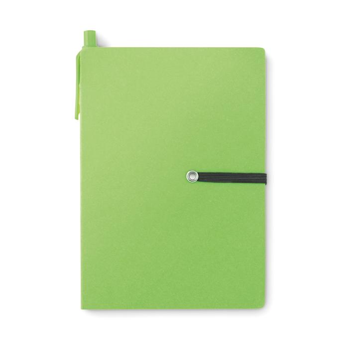 Recyceltes Notizbuch - bedruckbar