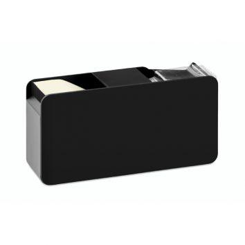 MO9215_03-Klebeband-notizzettel-abroller-schwarz-bedruckbar-bedrucken-Logodruck-Werbegeschenk-Werbeartikel-Rosenheim-Muenchen-Deutschland