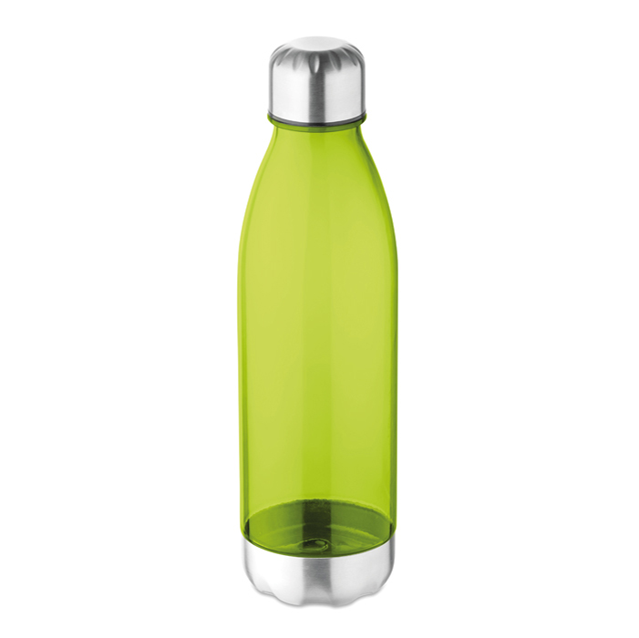 Trinkflasche aus Kunststoff und Edelstahl - bedruckbar