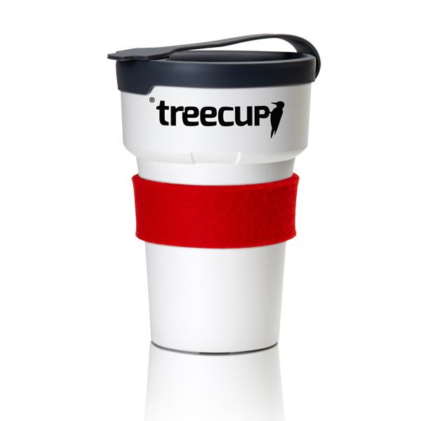 Coffeetogo Becher recyclebar aus Baumharz und Wachs zum Bedrucken