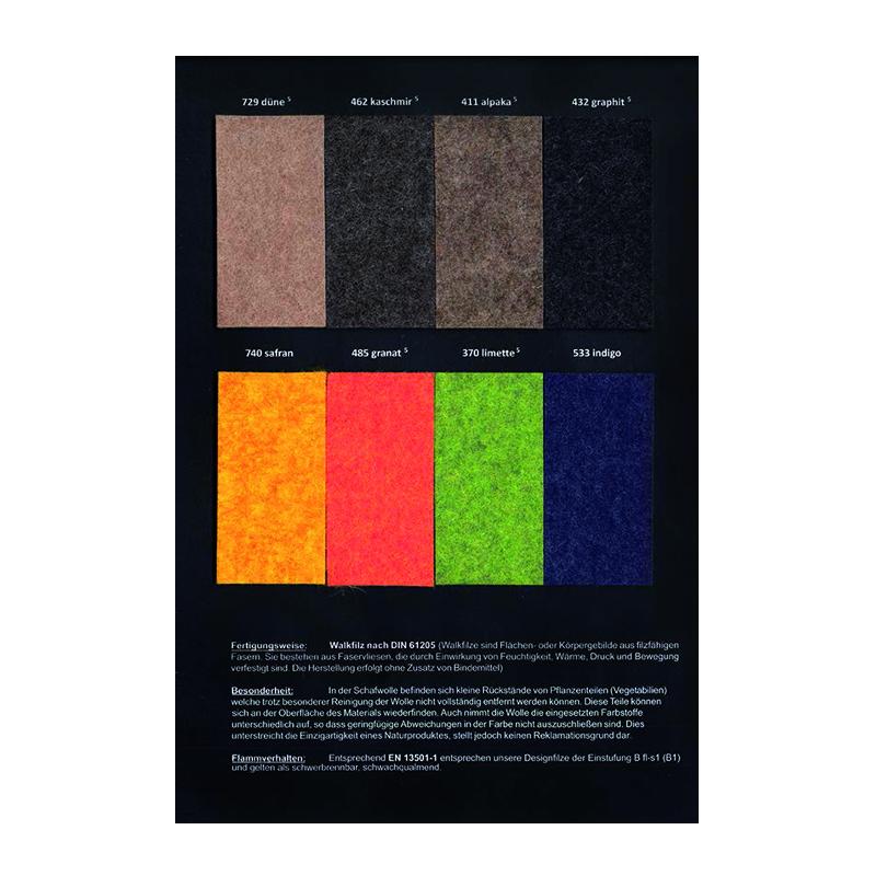 Wollfilzfarben-melange