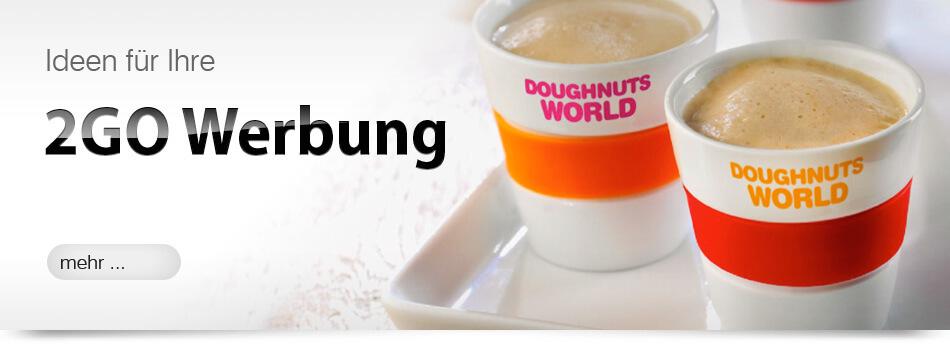 Coffeetogo als Werbemittel, Werbegeschenk oder Werbeartikel zum bedrucken