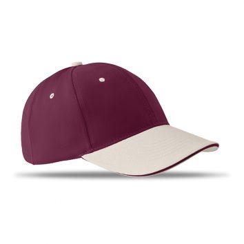MO8654_1-Baseball-Kappe-Basecap-Weinrot-Baumwolle-Sommer-Outdoor-Sonne-Muenchen-Rosenheim-Werbeartikel-bedrucken-bedruckbar.jpg