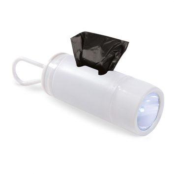 MO8676_1-LED-Taschenlampe-weiss-Fach-Abfalltueten-Karabiner-Muenchen-Rosenheim-Werbeartikel-bedrucken-bedruckbar.jpg