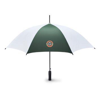 MO8778_1-Regen-Schirm-dunkelgruen-Logoaufdruck-Frontansicht-Muenchen-Rosenheim-Werbeartikel-bedrucken-bedruckbar.jpg